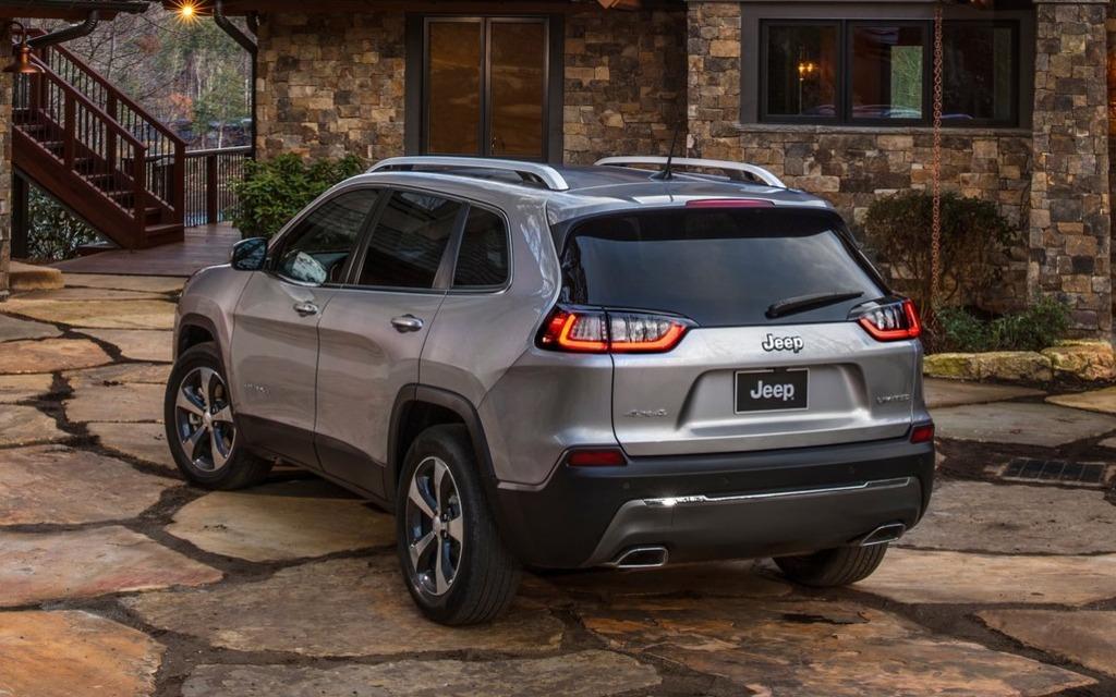 voici le nouveau jeep cherokee 2019 guide auto. Black Bedroom Furniture Sets. Home Design Ideas