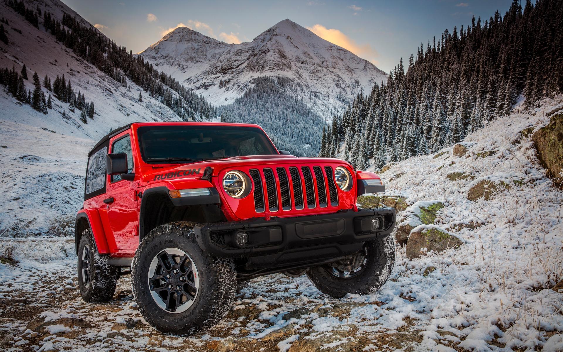 Jeep Wrangler 2018 : Une version hybride rechargeable pour ...