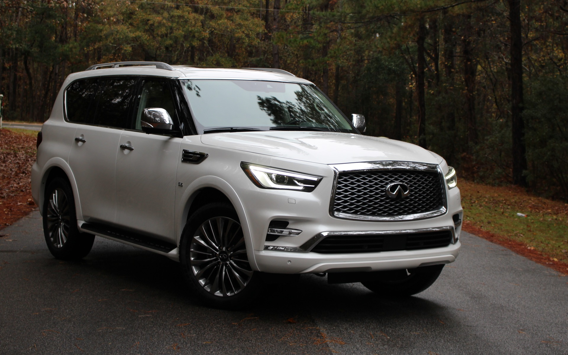 2018 infiniti qx80 sweetening the deal the car guide. Black Bedroom Furniture Sets. Home Design Ideas