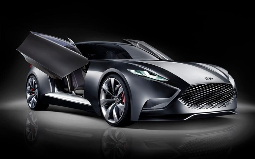 <p>Hyundai HND-9 Concept</p>