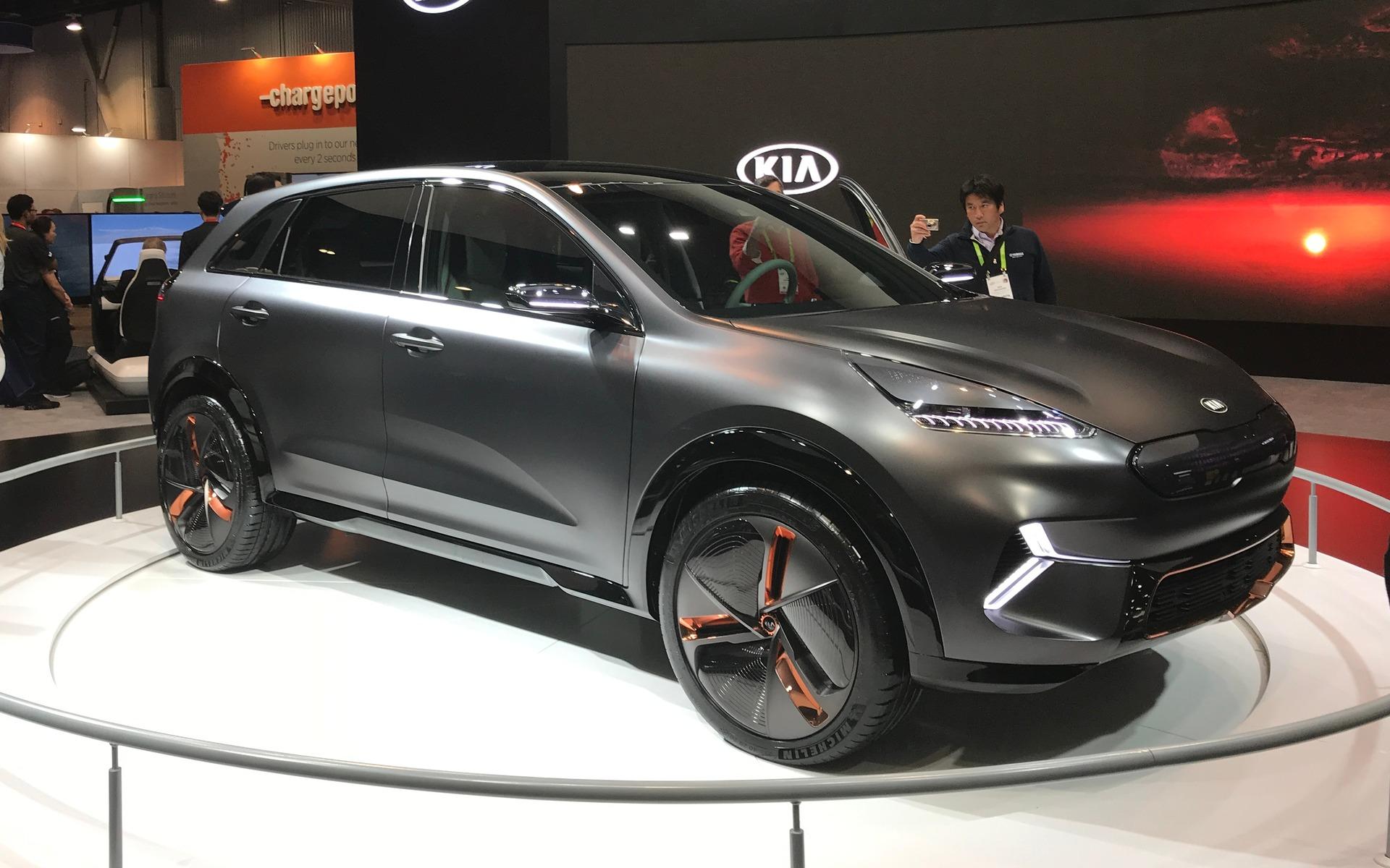 Kia au CES 2018, le Niro EV Concept