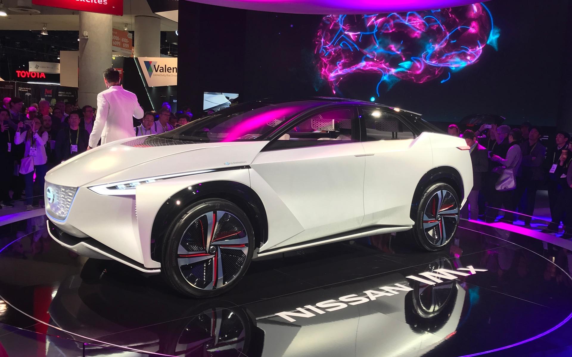 <p>Nissan IMx Concept</p>