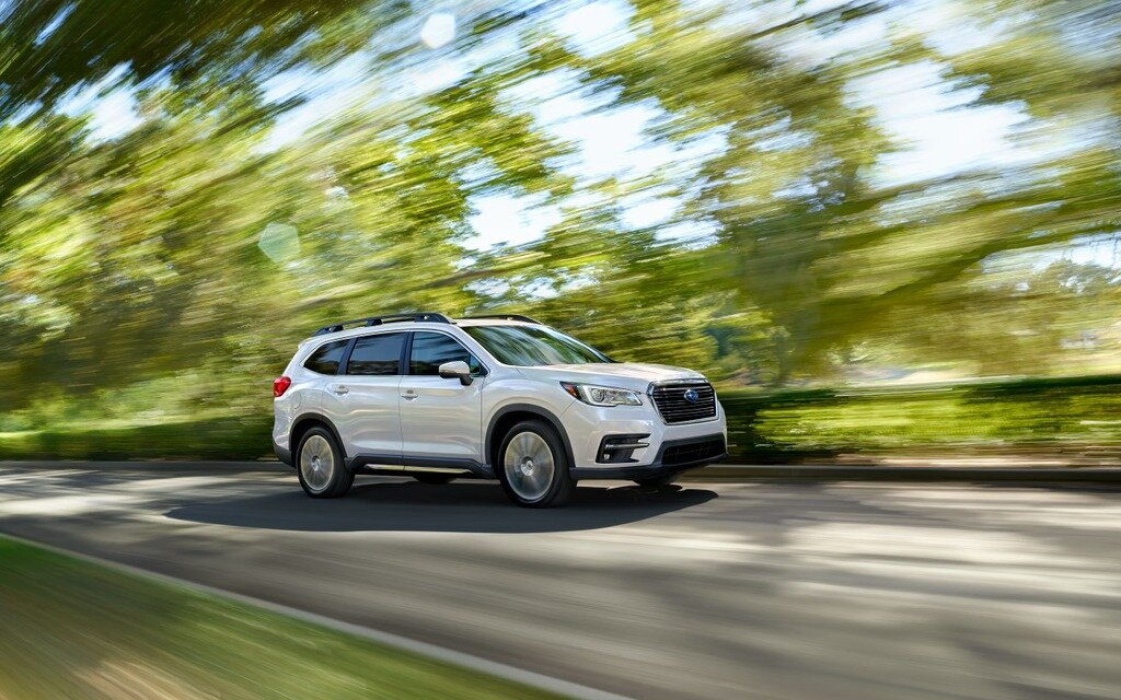 canadian premiere  subaru ascent tailor   north america  car guide