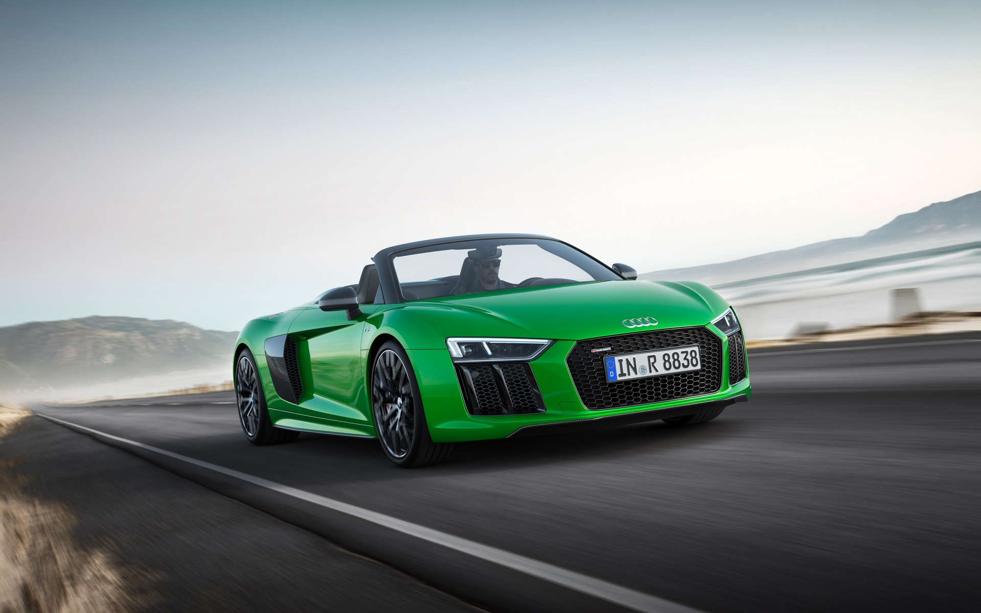 Nice Canadian Premiere: Audi R8 Spyder V10 Plus Adds On More Power