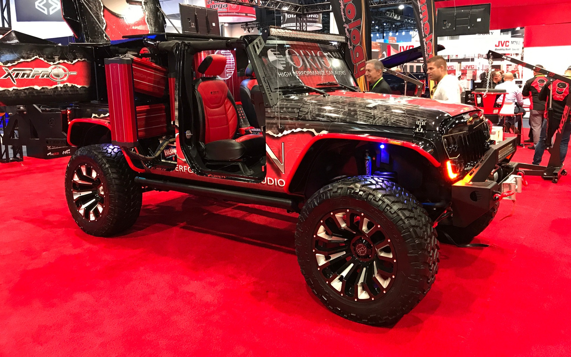 <p>Un Jeep Wrangler signé Orion</p>