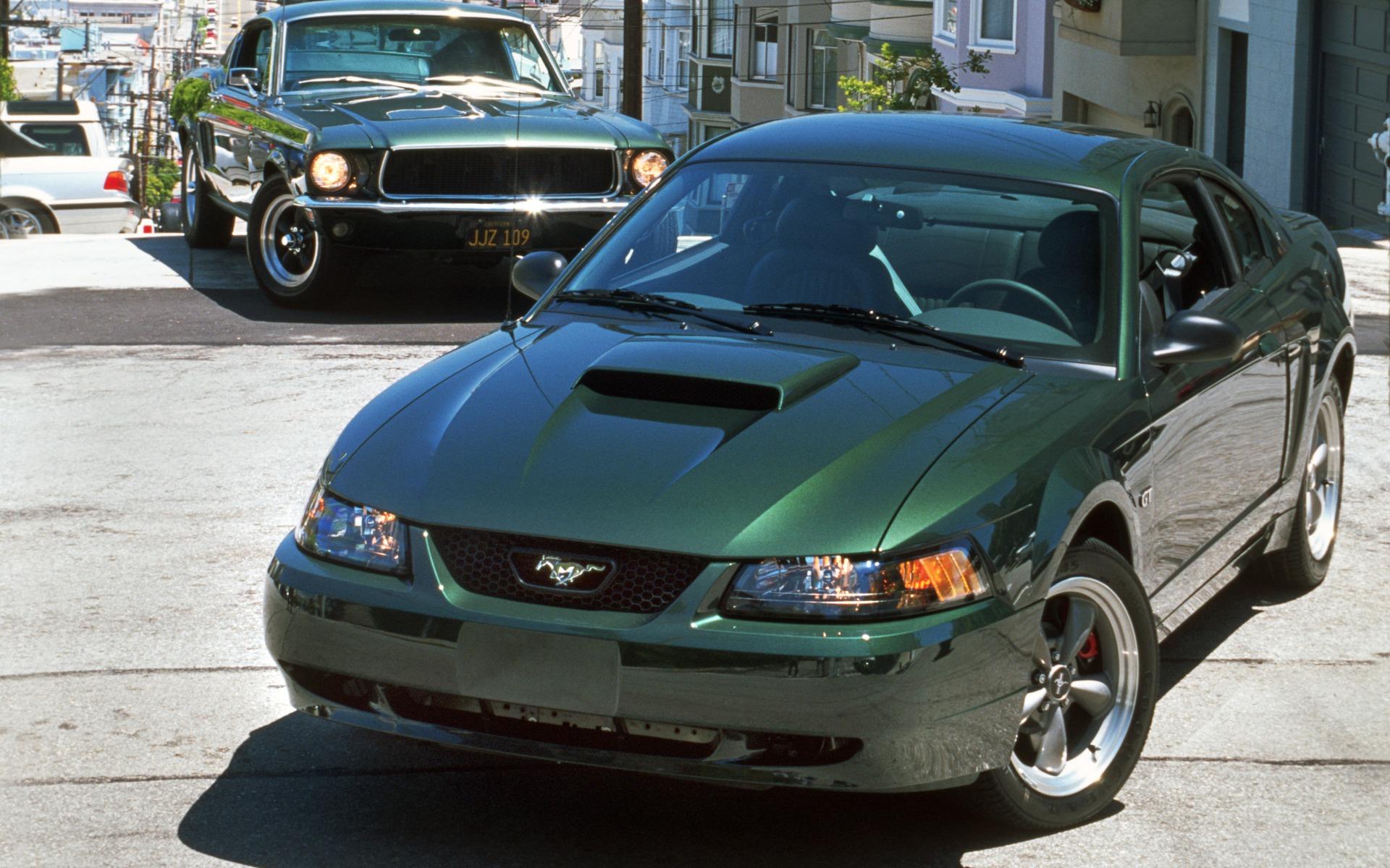 <p>Ford Mustang Bullitt 2001</p>
