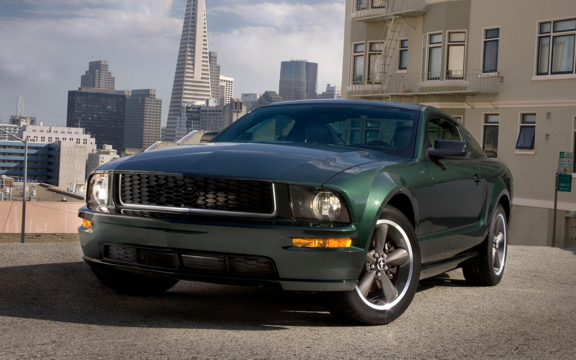 <p>Ford Mustang Bullitt 2008</p>