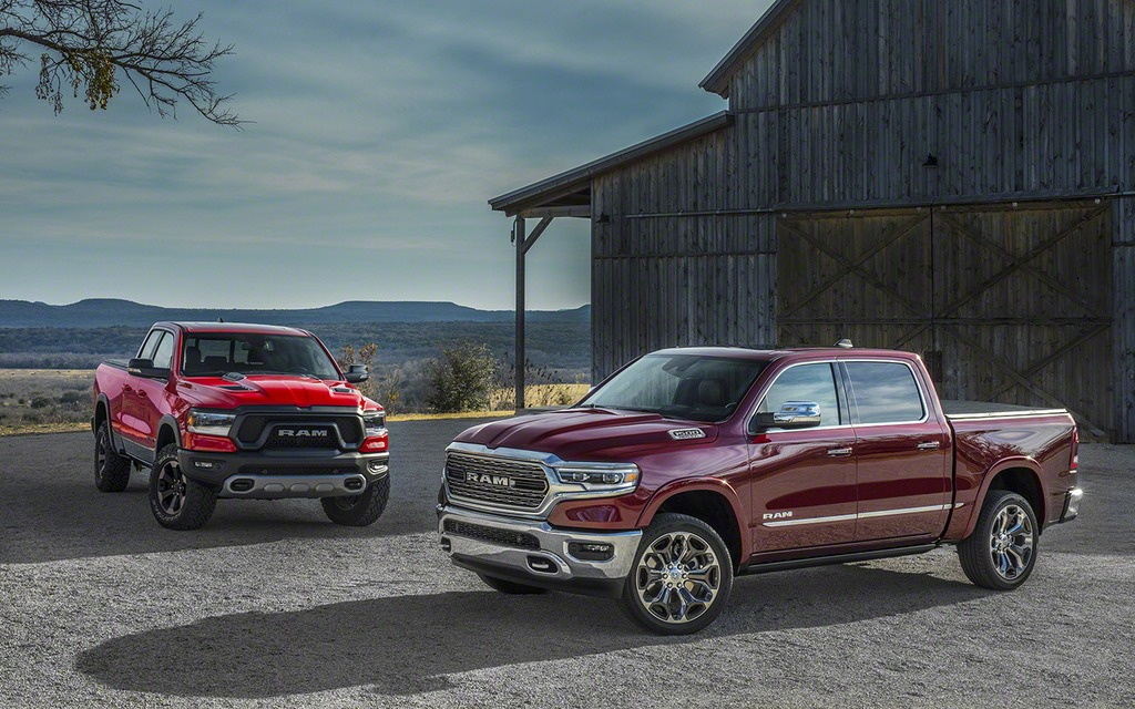 Ram 1500 Rebel >> The 2019 Ram 1500 in Pictures - 1/62