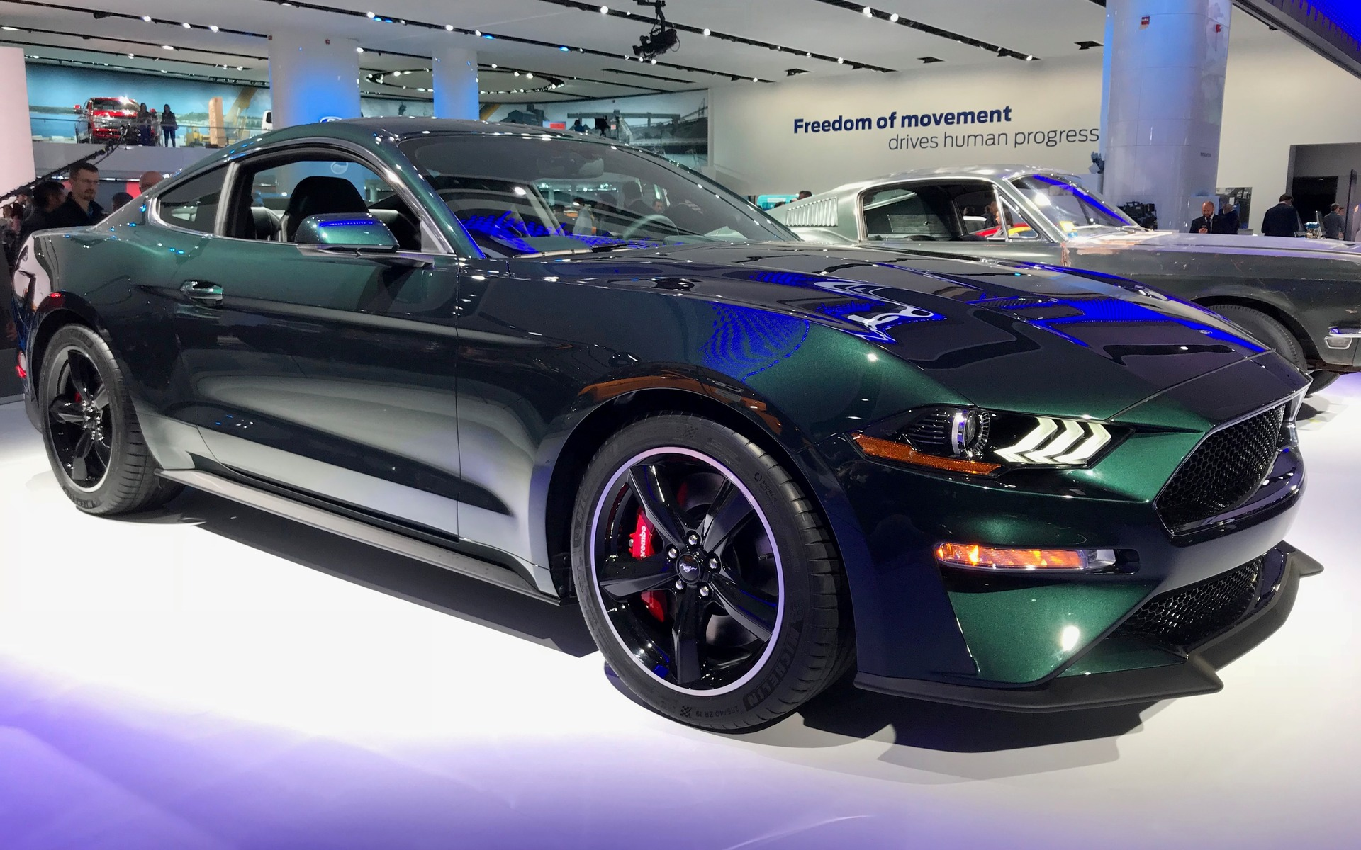 the ford mustang bullitt is back the car guide. Black Bedroom Furniture Sets. Home Design Ideas
