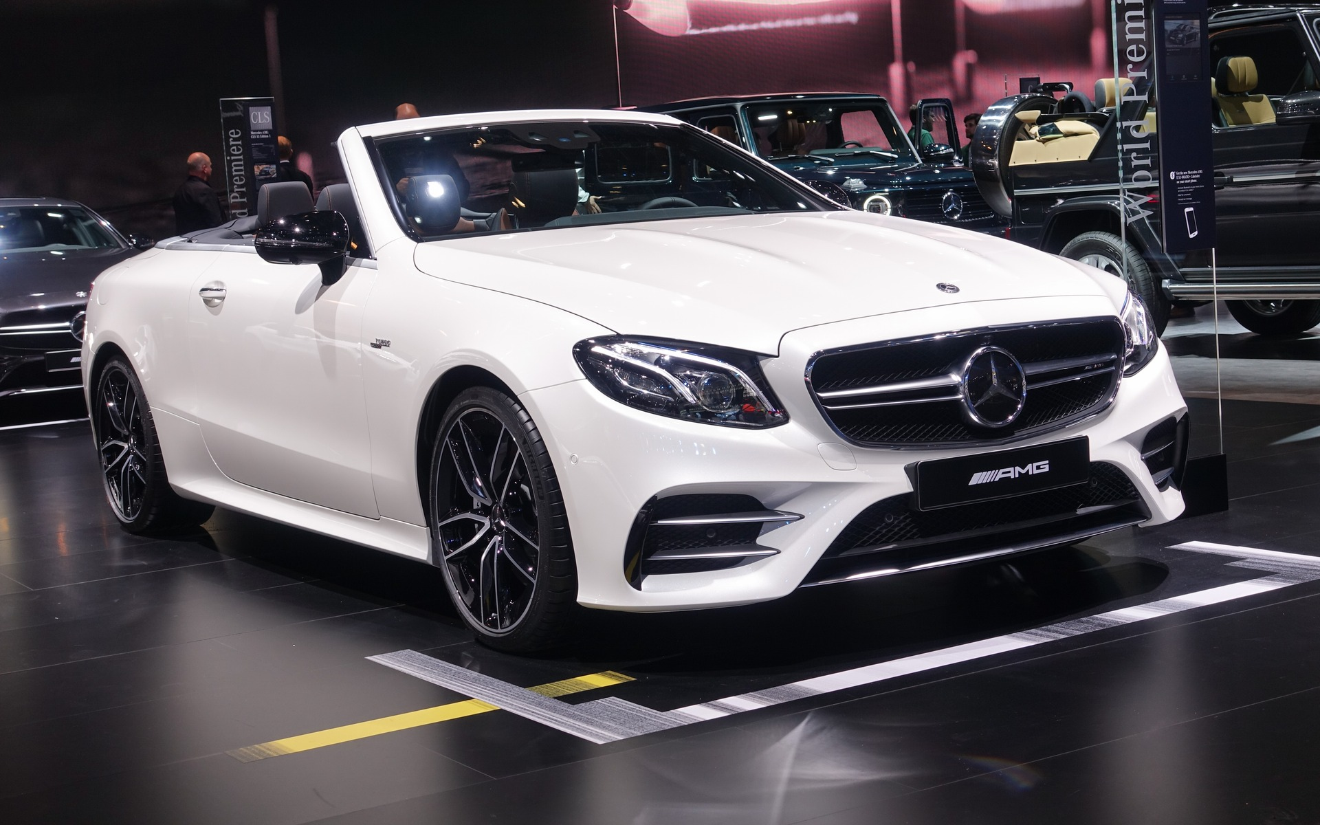 <p>Mercedes-AMG E 53 Cabriolet</p>