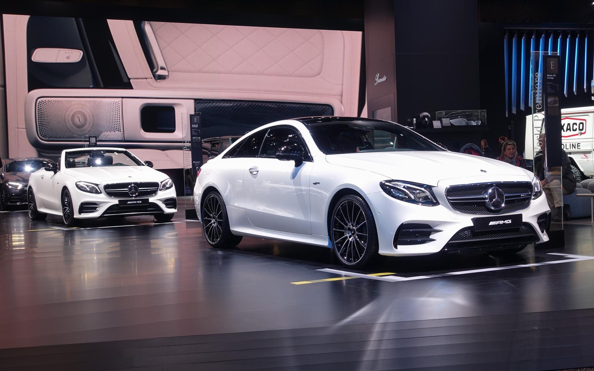 <p>Mercedes-AMG E 53 Coup&eacute; et Cabriolet</p>