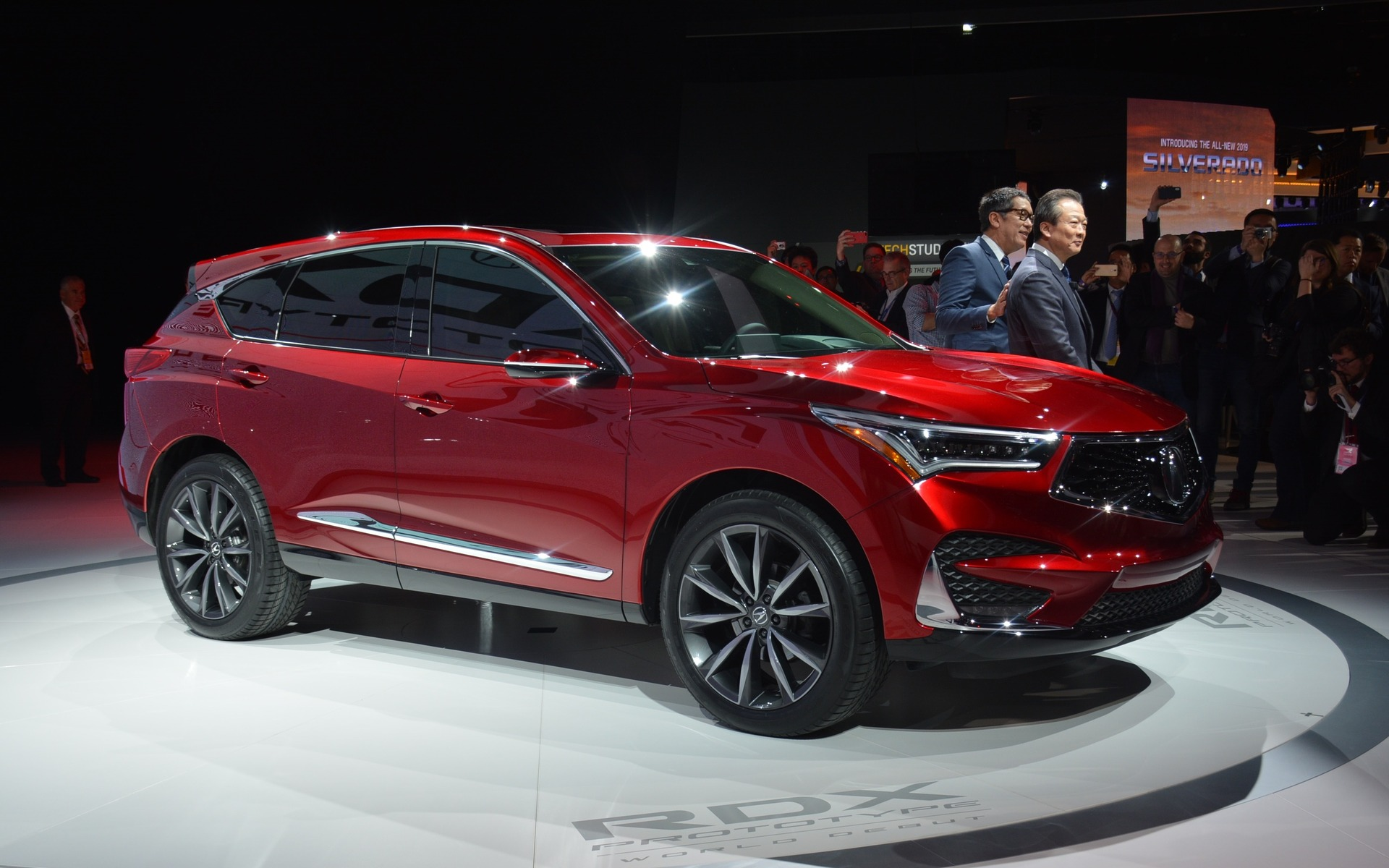 Acura RDX 2019 : on repart en neuf avec un nouveau langage ...