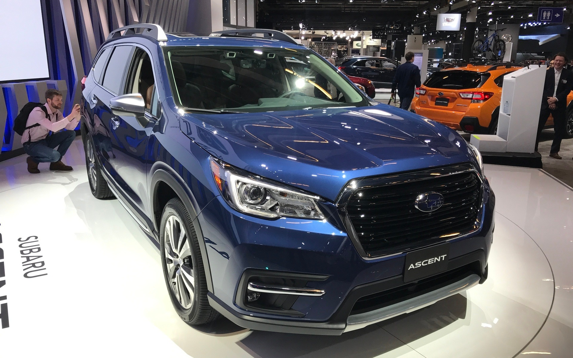 2018 Subaru Ascent >> Canadian Premiere: 2019 Subaru Ascent Tailor-made for North America - 1/19