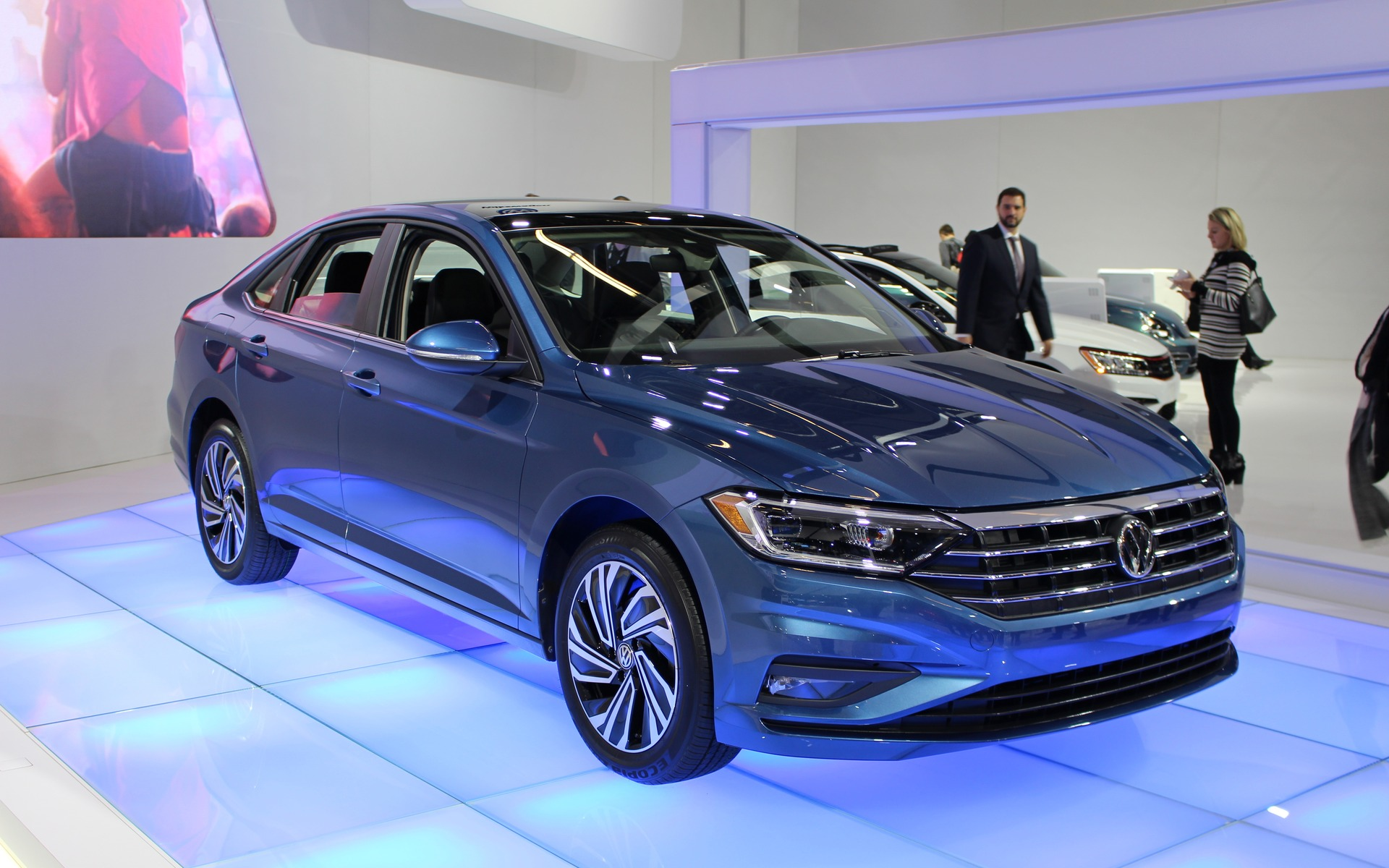 canadian premiere  2019 volkswagen jetta gets a more dynamic design  at last