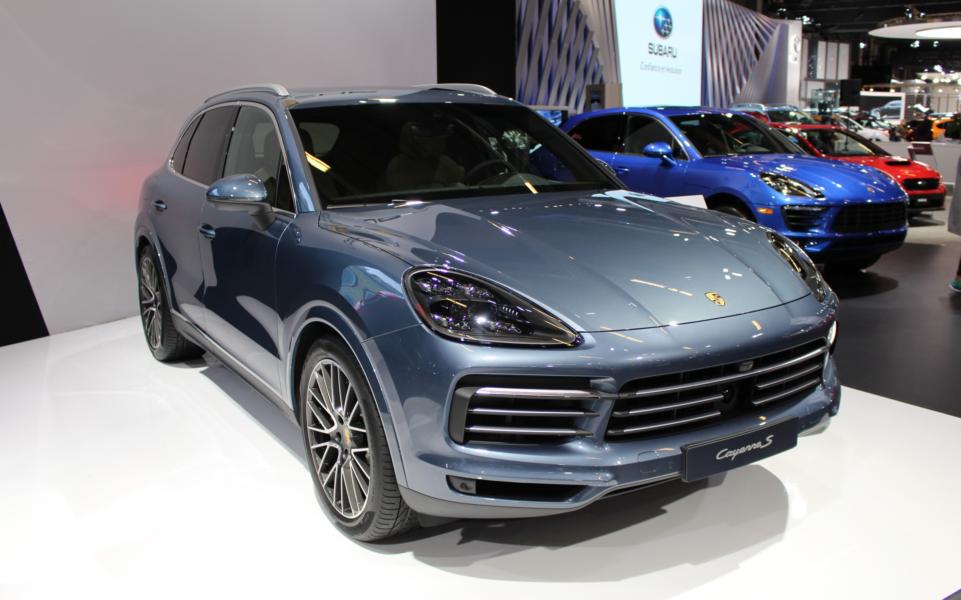 The Turbo Engineers >> Canadian Premiere: 2019 Porsche Cayenne Redefines Sport in SUV - The Car Guide