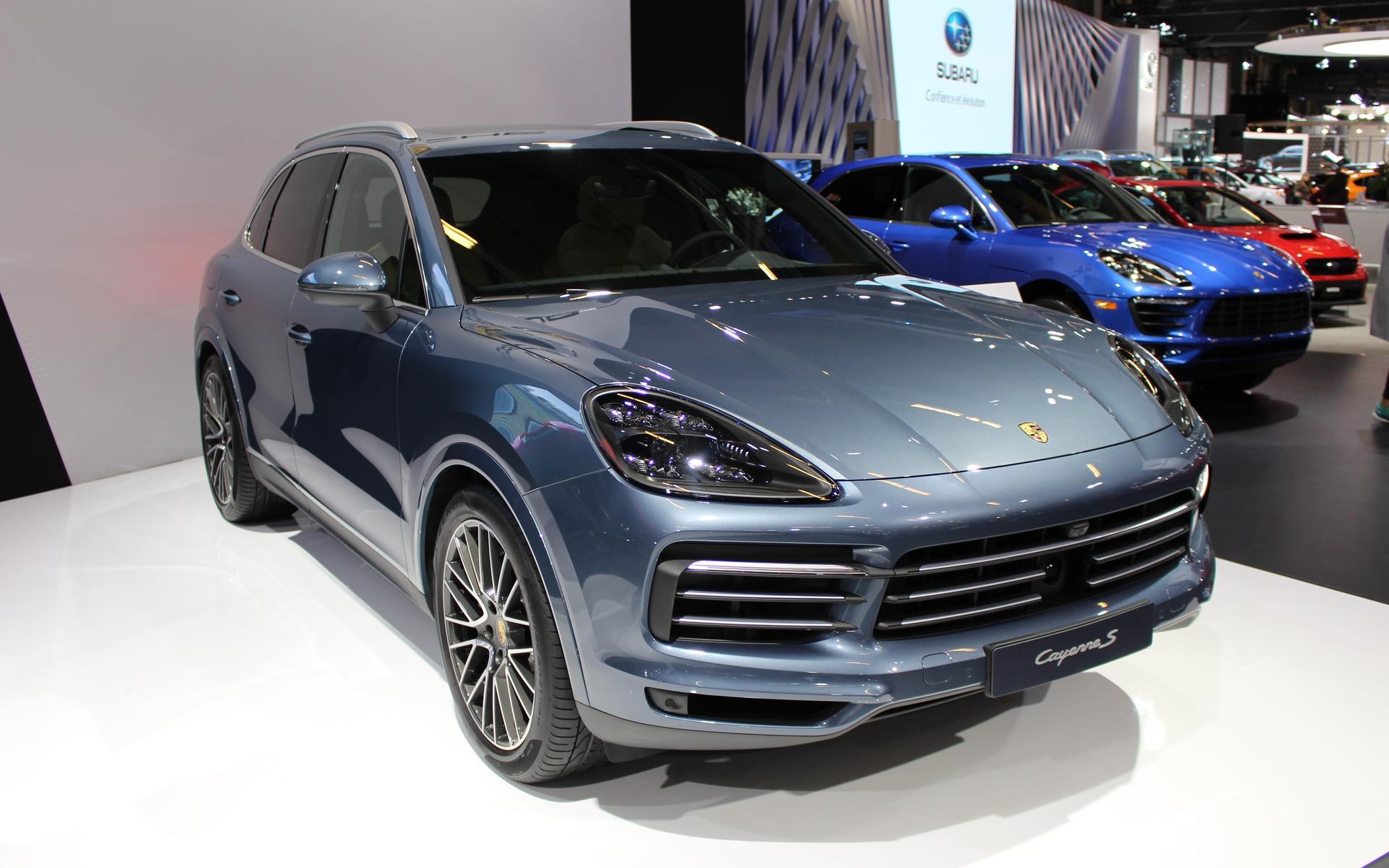 Canadian Premiere 2019 Porsche Cayenne Redefines Sport In Suv The