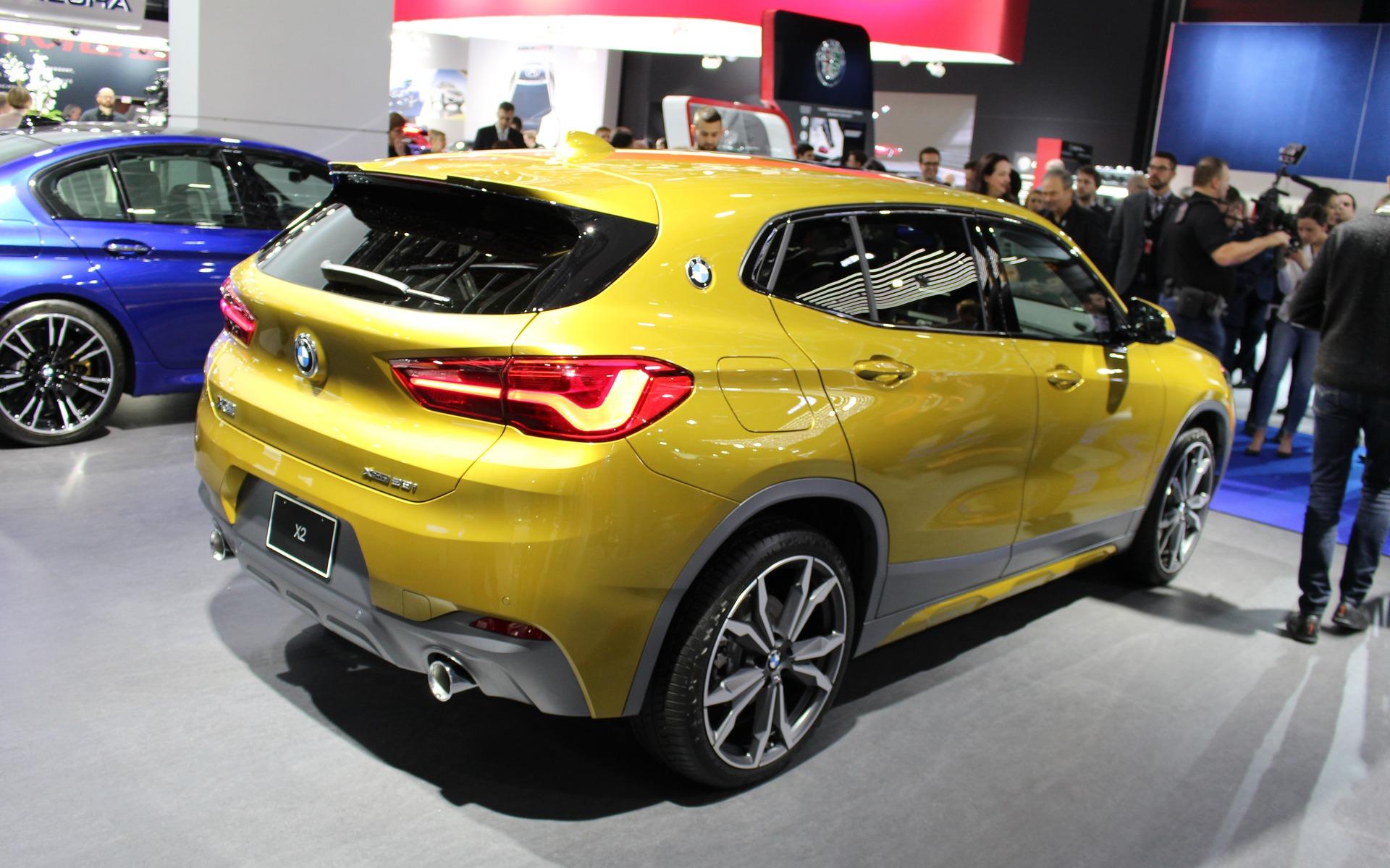 <p>BMW X22018 - Un design accrocheur.</p>