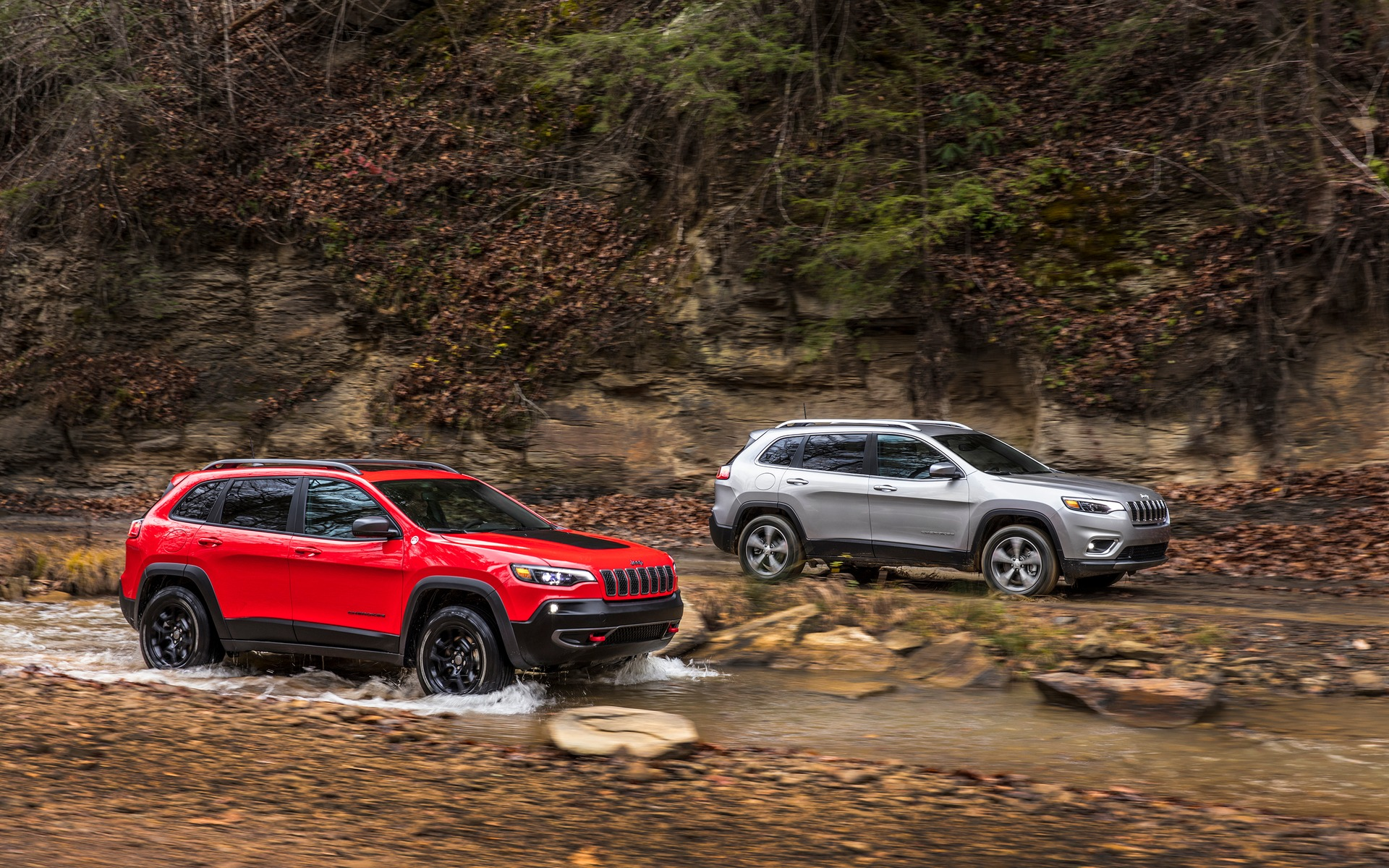 The refreshed 2019 Jeep Cherokee Trailhawk and Limited