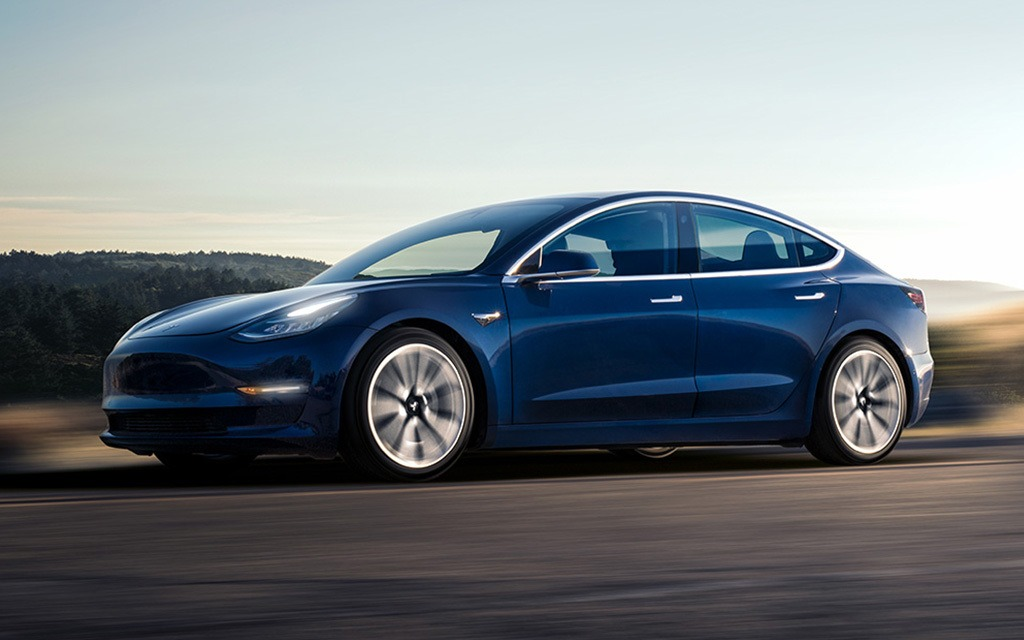 le march am ricain envahi de tesla model 3 d occasion. Black Bedroom Furniture Sets. Home Design Ideas