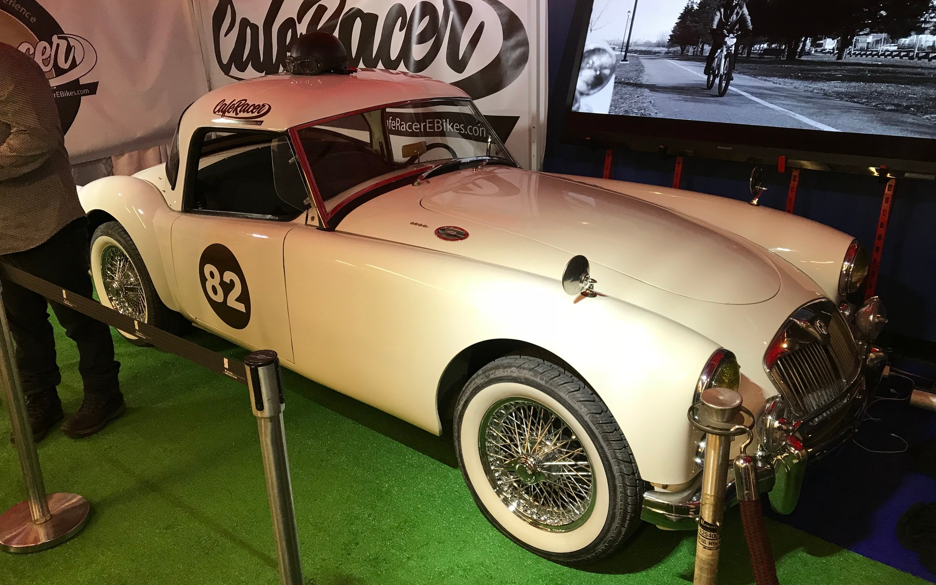 Le bon vieux temps au salon de l 39 auto de montr al 2018 2 21 for Salon de l auto