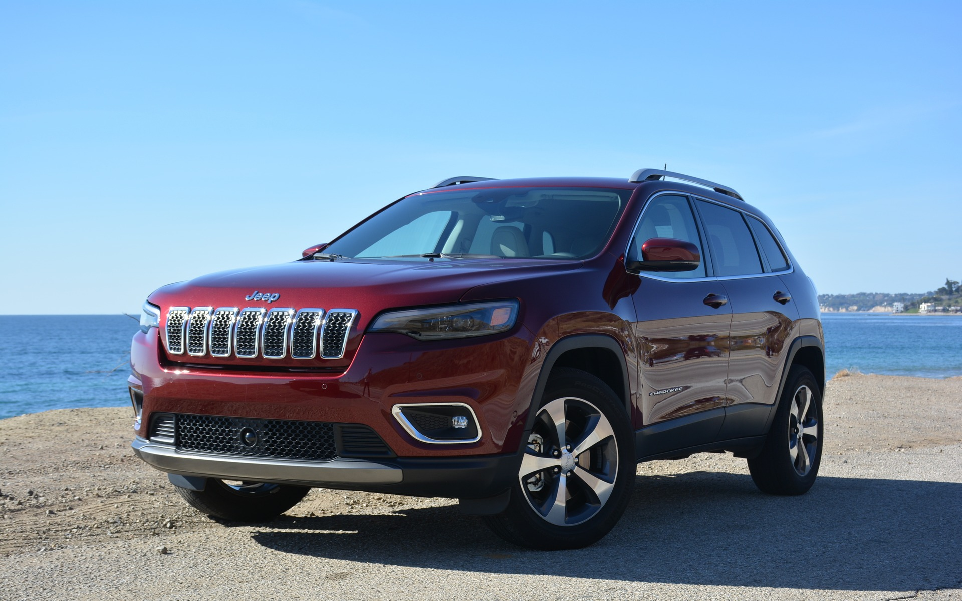 <p>The new 2019 Jeep Cherokee</p>