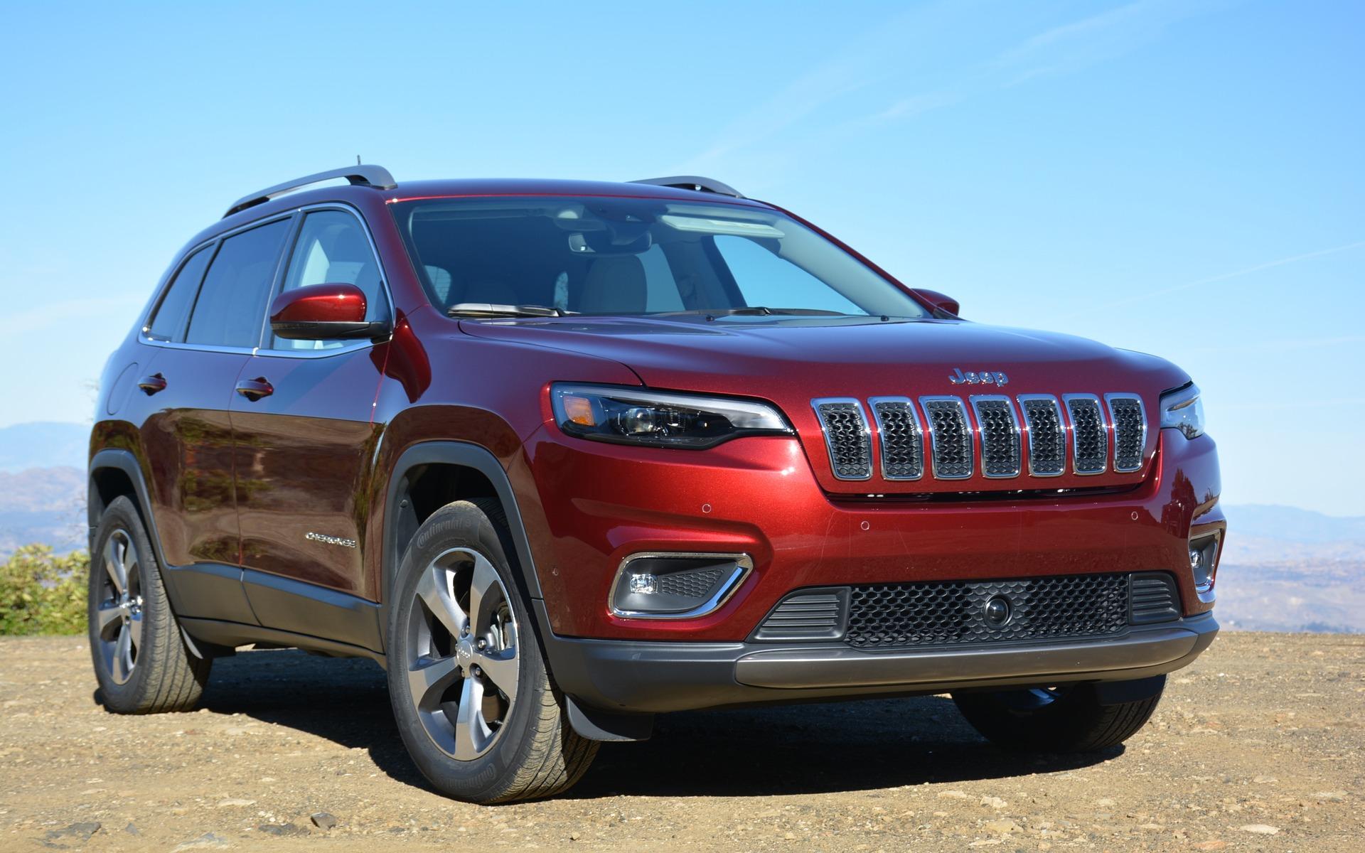 The new 2019 Jeep Cherokee