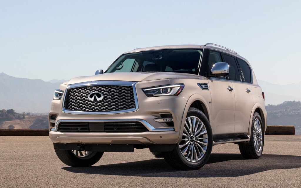 2018 infiniti qx80 pricing announced the car guide. Black Bedroom Furniture Sets. Home Design Ideas