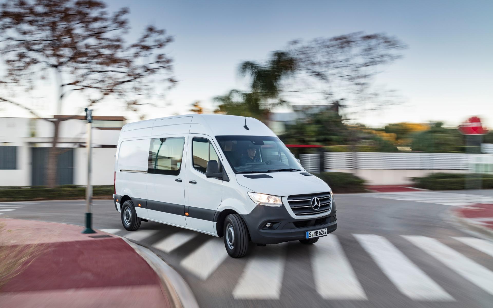 2019 Mercedes Sprinter >> Le Mercedes-Benz Sprinter 2019 dévoilé - 4/31