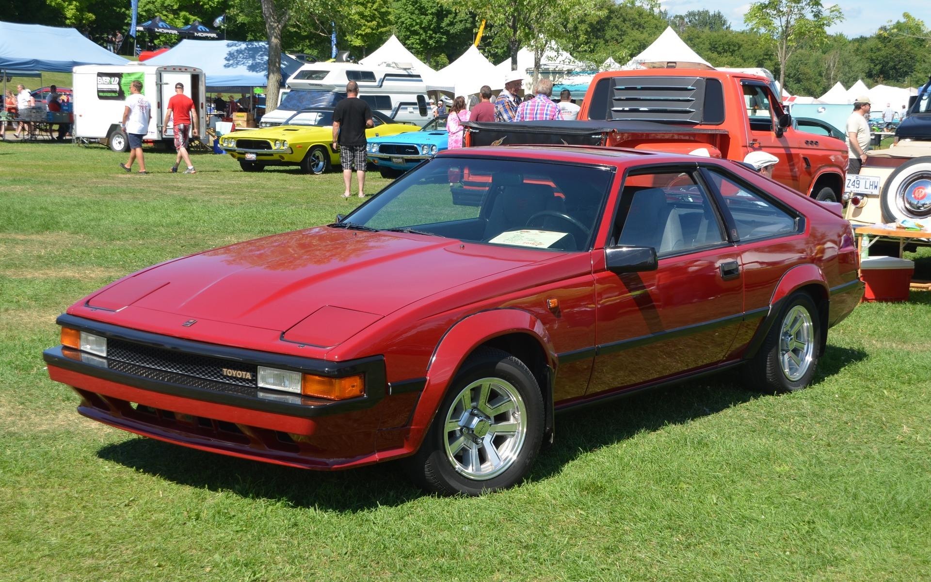 <p>Toyota Supra 1985</p>