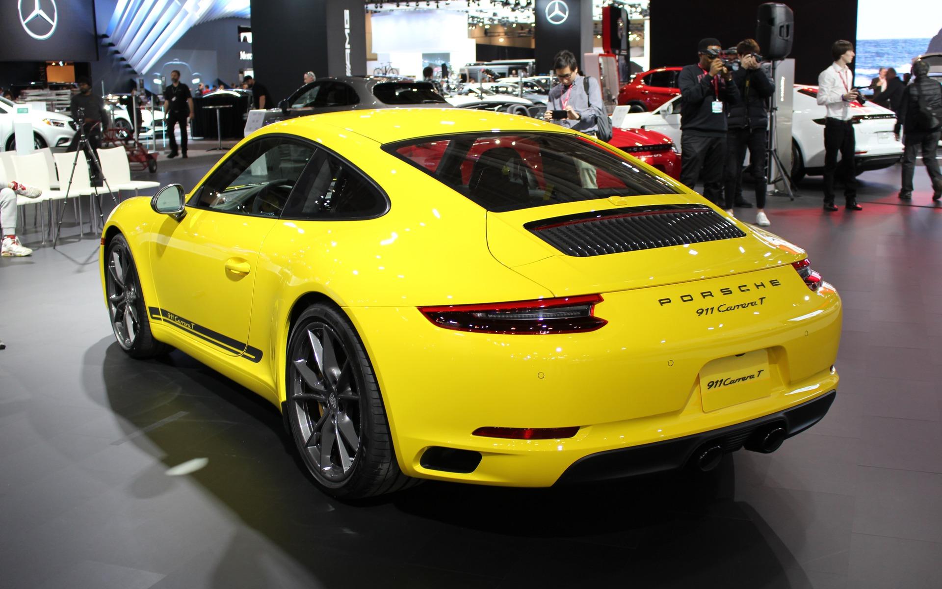 <p>Porsche 911 Carrera T 2018</p>