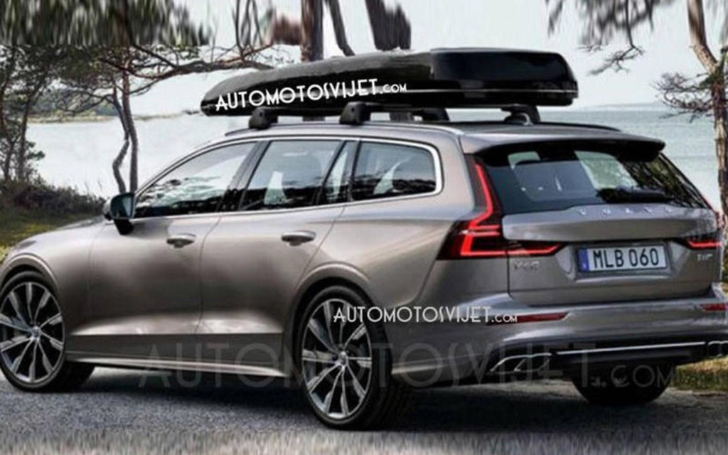 Are These The First Images Of The 2019 Volvo V60 The Car Guide