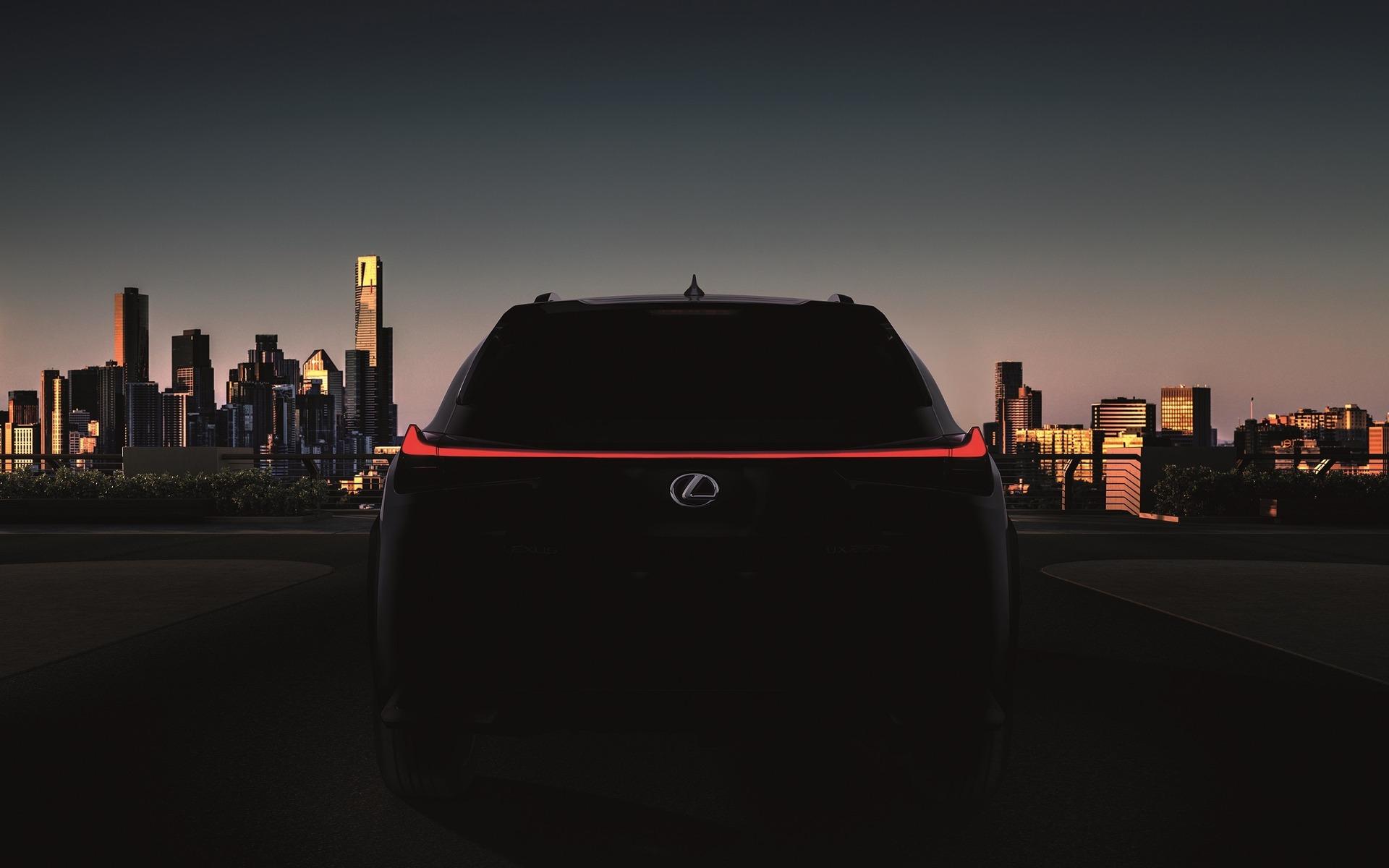 Le Lexus UX 2019