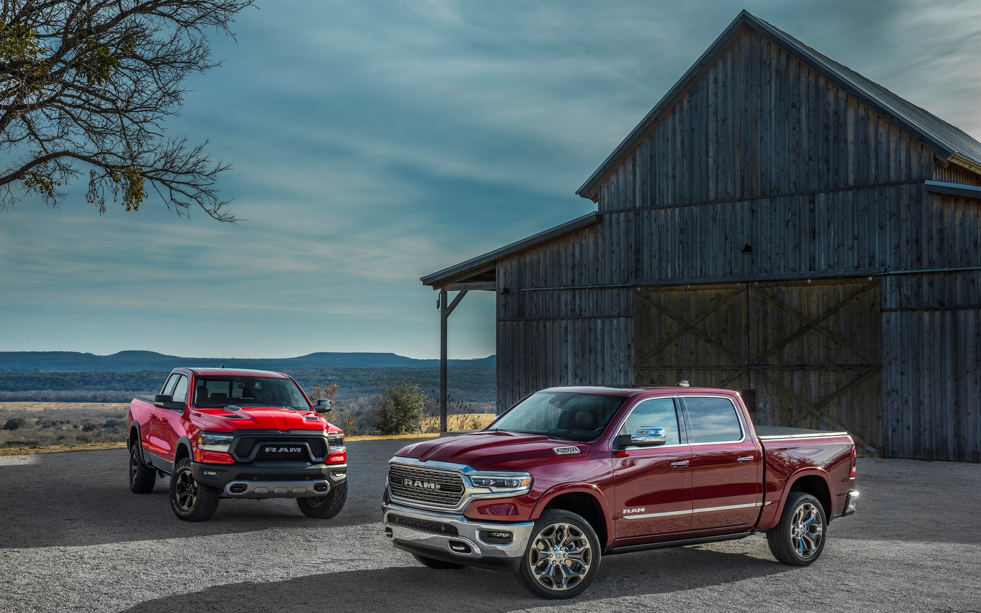 The all-new 2019 Ram 1500 Limited and Rebel