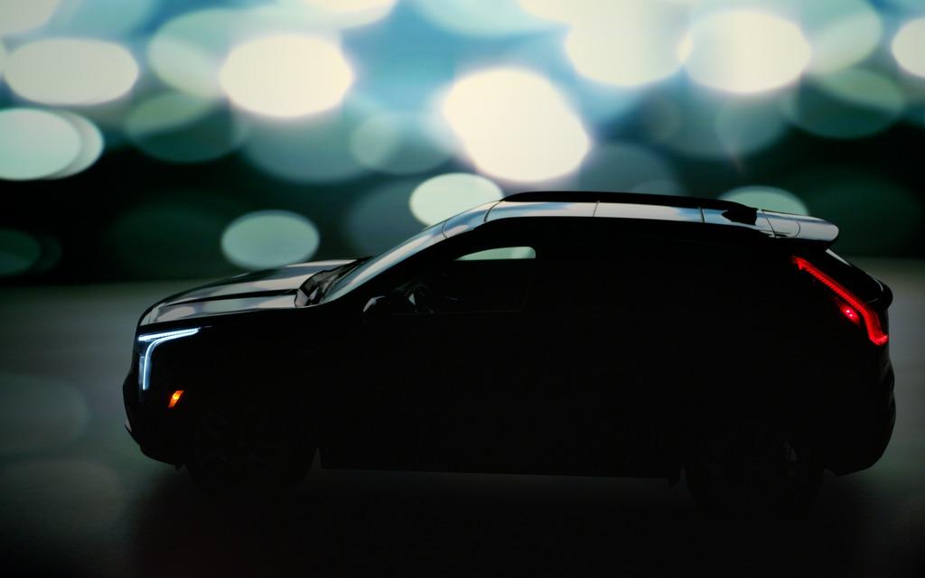 Le profil du nouveau Cadillac XT42019