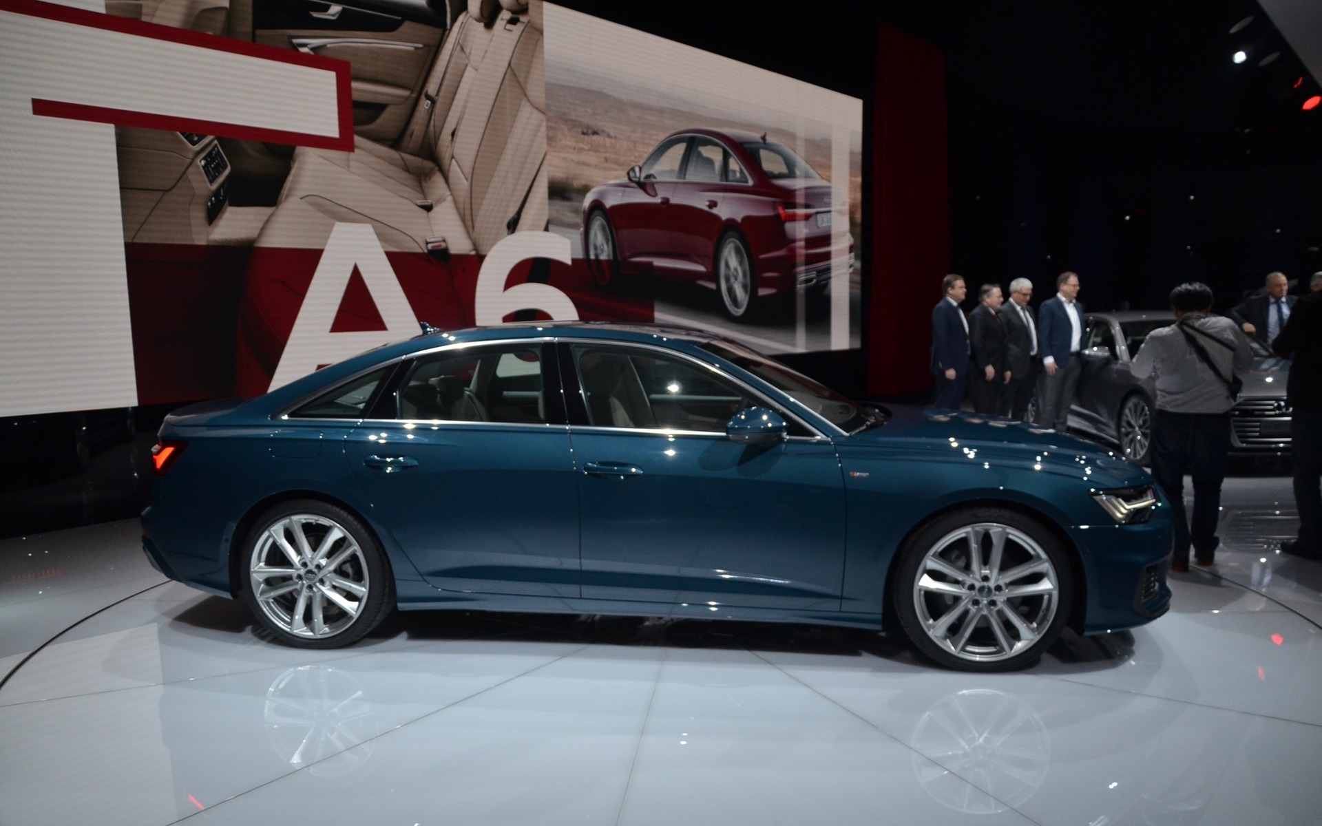 Audi A62019 - Une des stars de Genève.