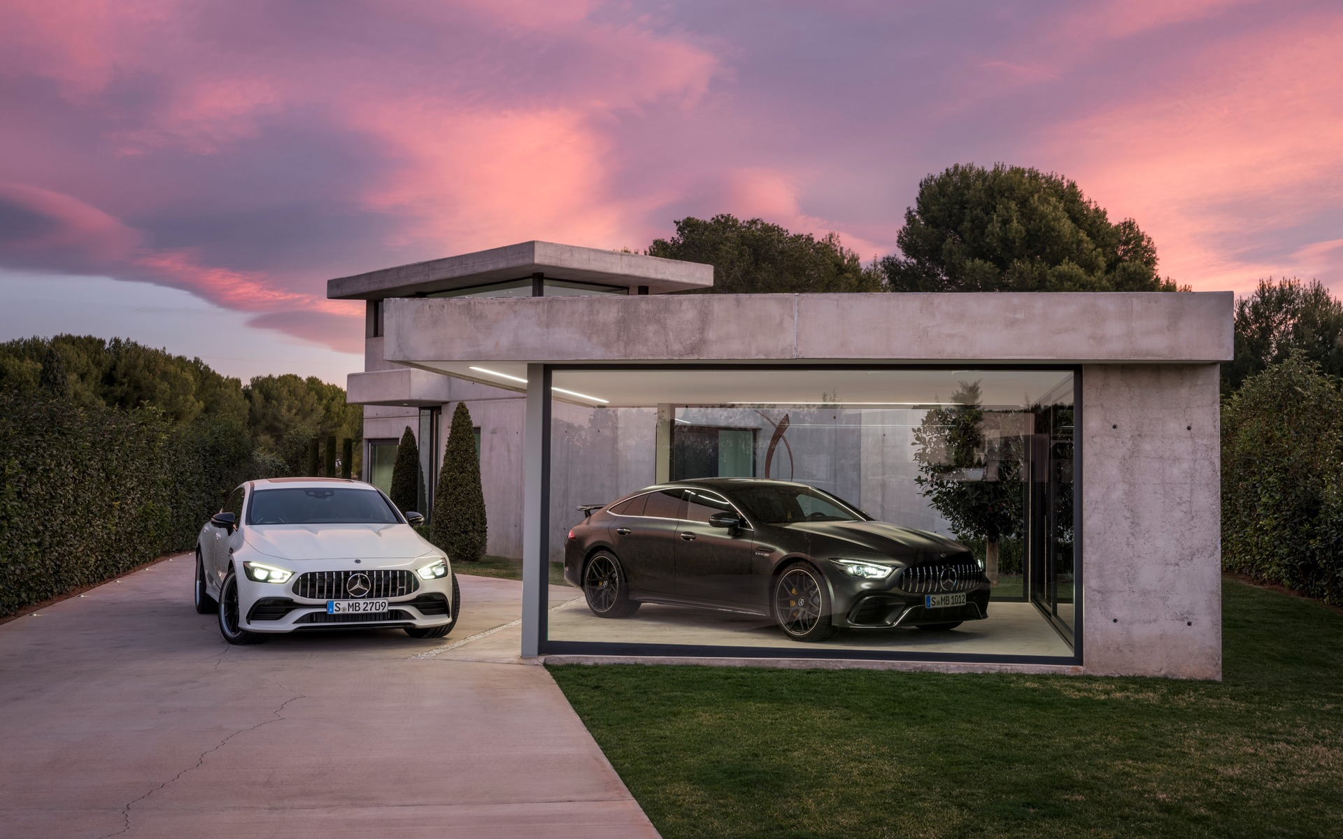 <p>Mercedes-AMG GT 53 4MATIC+ et GT 63 S 4MATIC+ 2019</p>