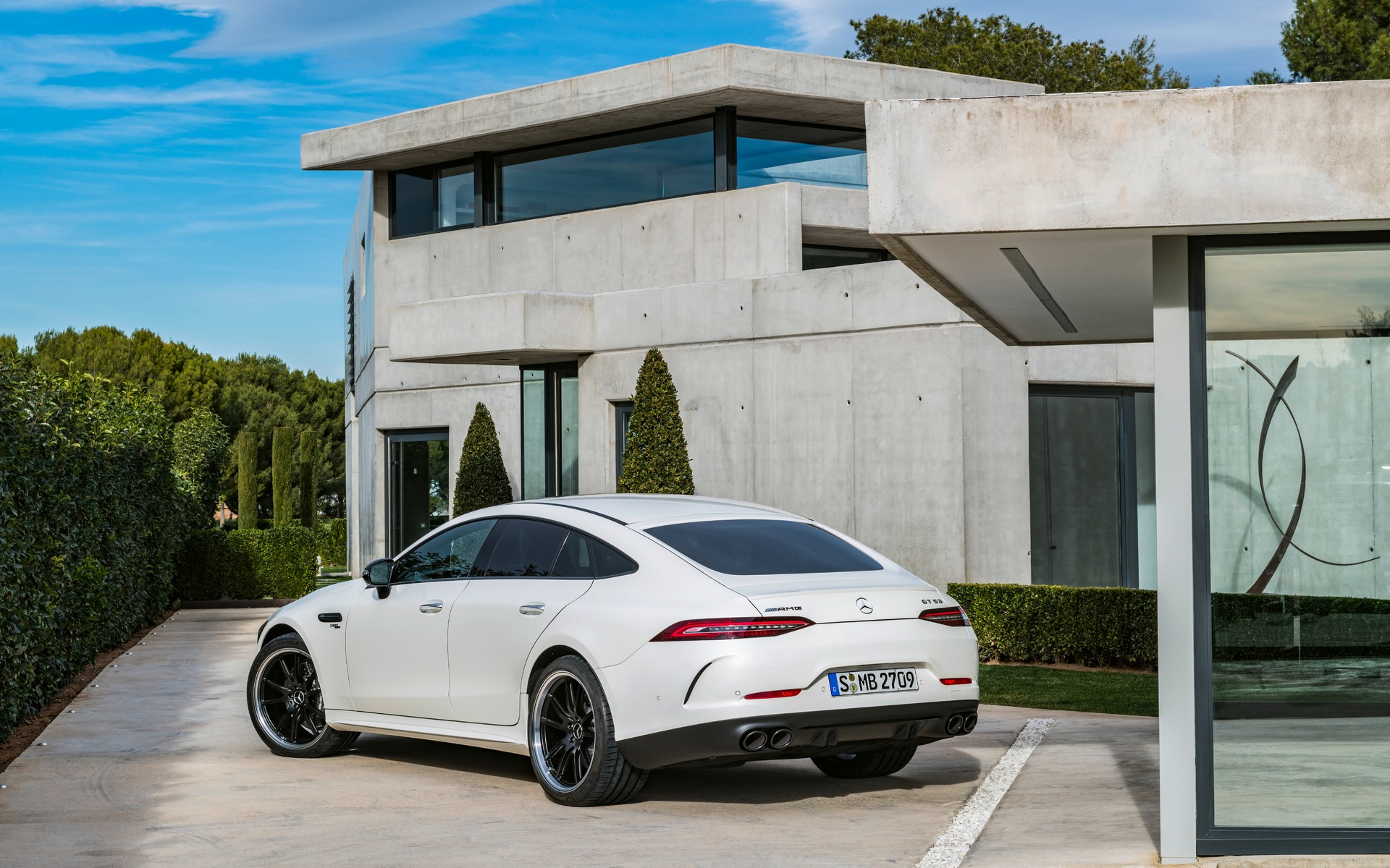2019 Mercedes Amg Gt 4 Door Coupe More Doors More Fun