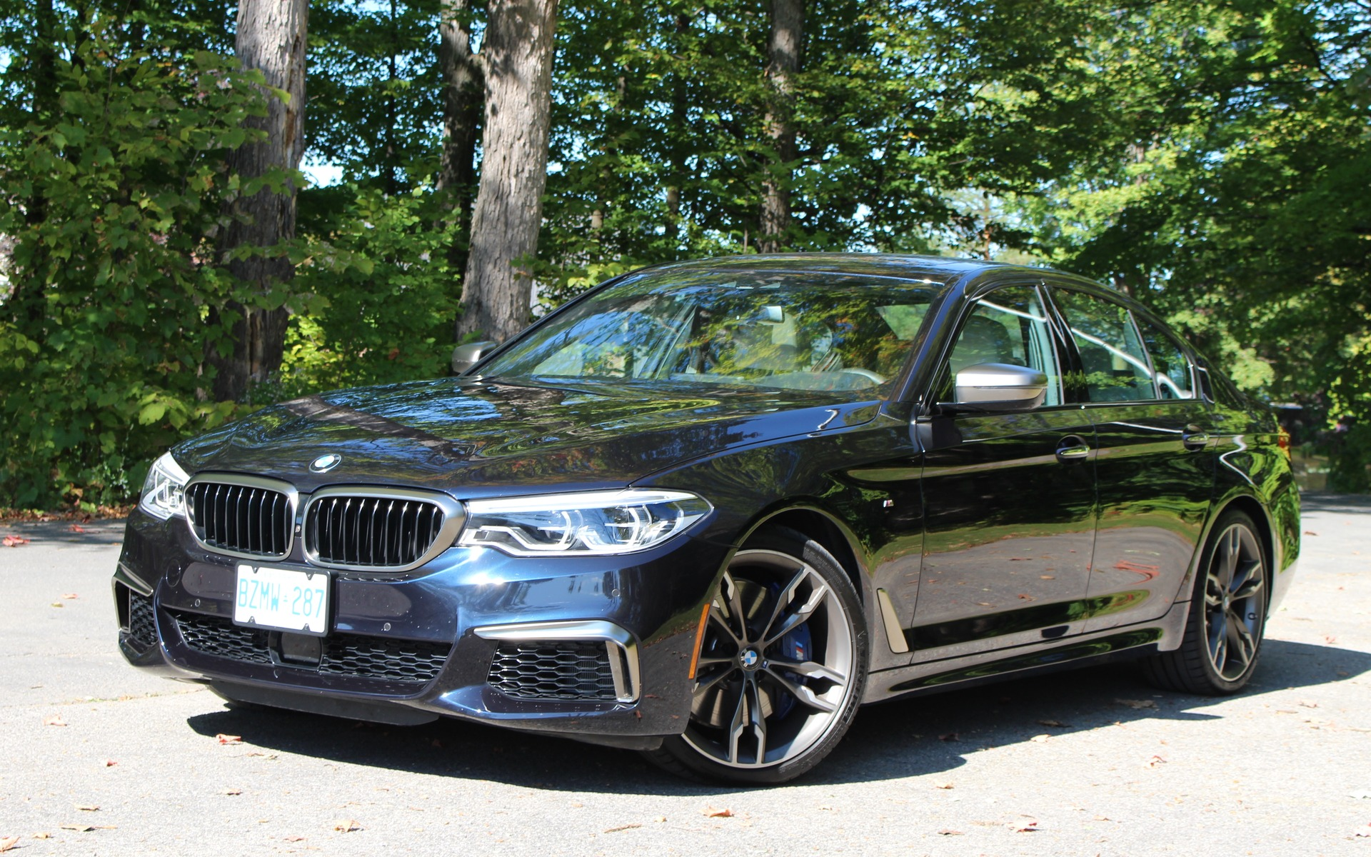 2018 Bmw M550i Xdrive Not Quite An M5 But Close The Car Guide