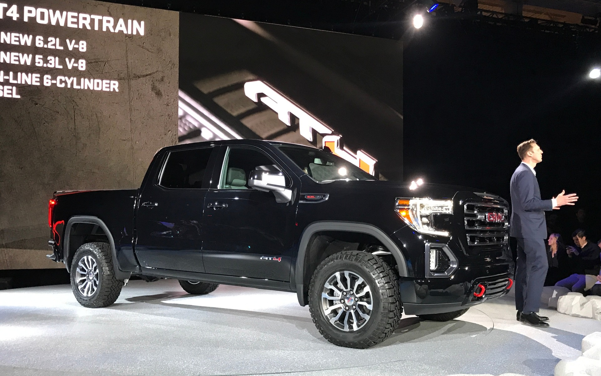 The Sierra All Terrain is now the 2019 GMC Sierra AT4 ...