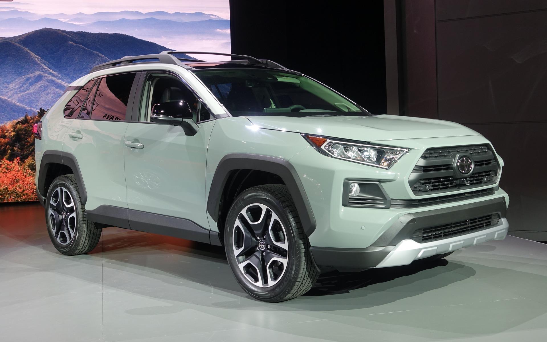 Trois Visages Pour Le Nouveau Toyota Rav4 2019 8 9
