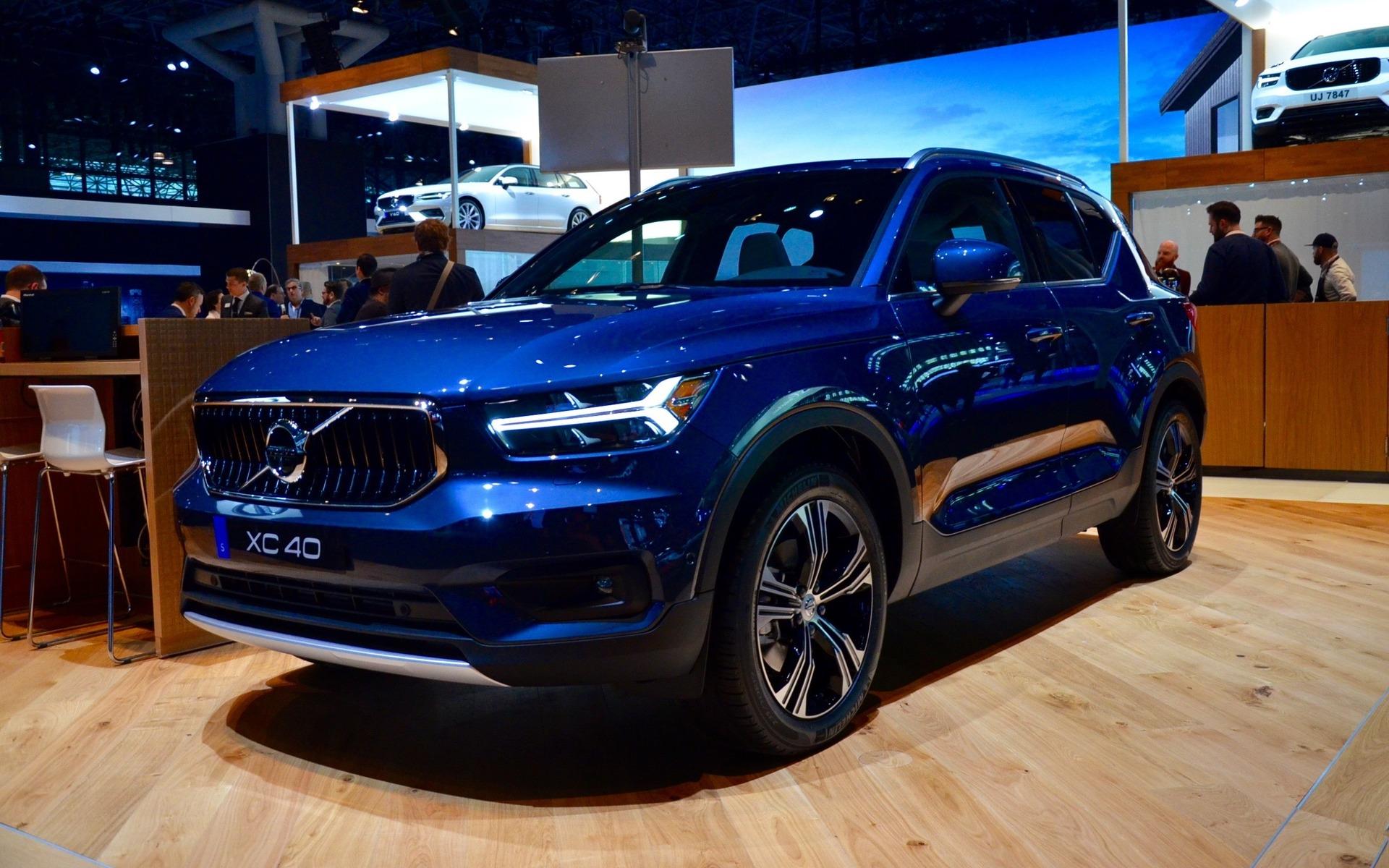 Volvo V60 2019 Et Volvo Xc40 Inscription 2019 Premi 232 Res Nord Am 233 Ricaines 224 New York 3 19