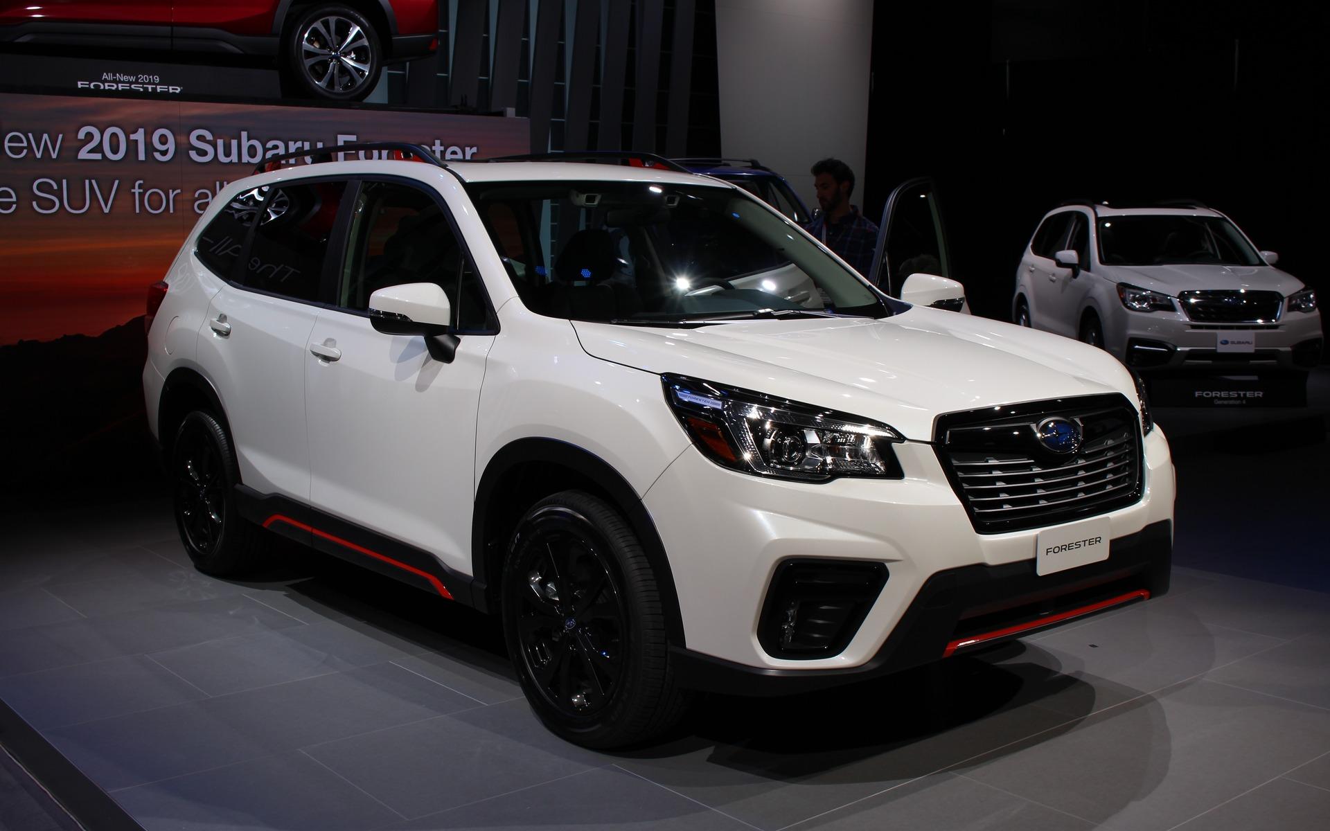 Le Subaru Forester 2019 redessiné et plus spacieux ...