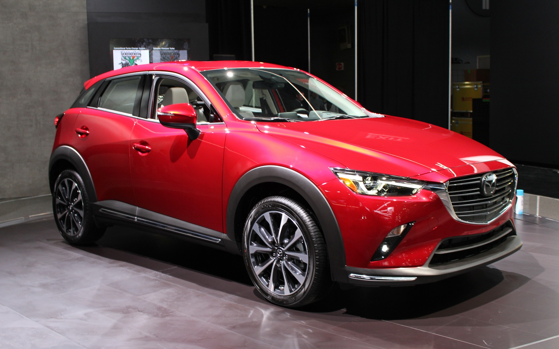 2019 Mazda Cx 3 On Display In New York The Car Guide
