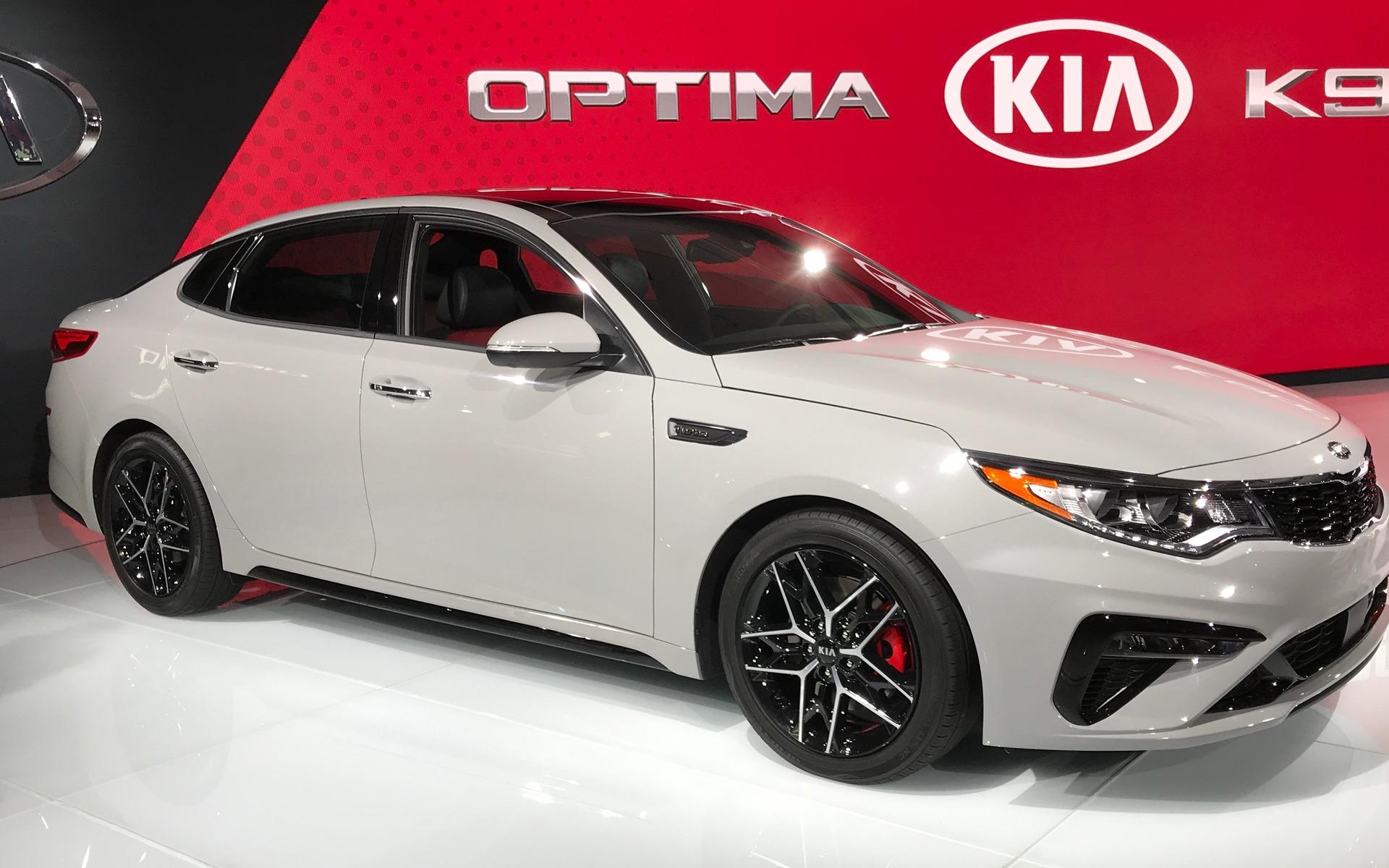 <p>La toute nouvelle Kia Optima 2019</p>
