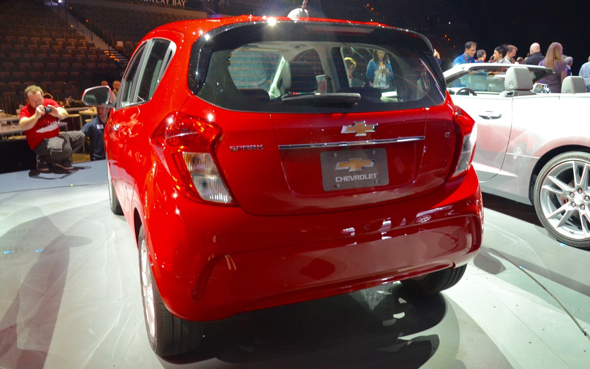 2019 Chevy Spark >> 2019 Chevrolet Spark: New Nose, New Colours - 2/3