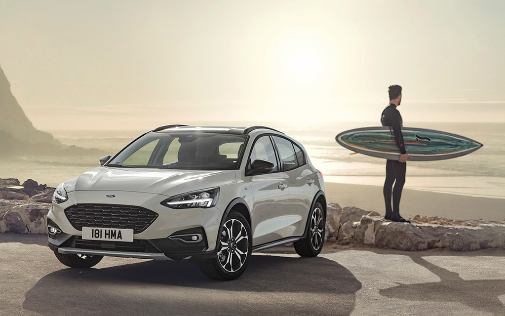 <p>Ford Focus Active destinée pour l'Europe</p>