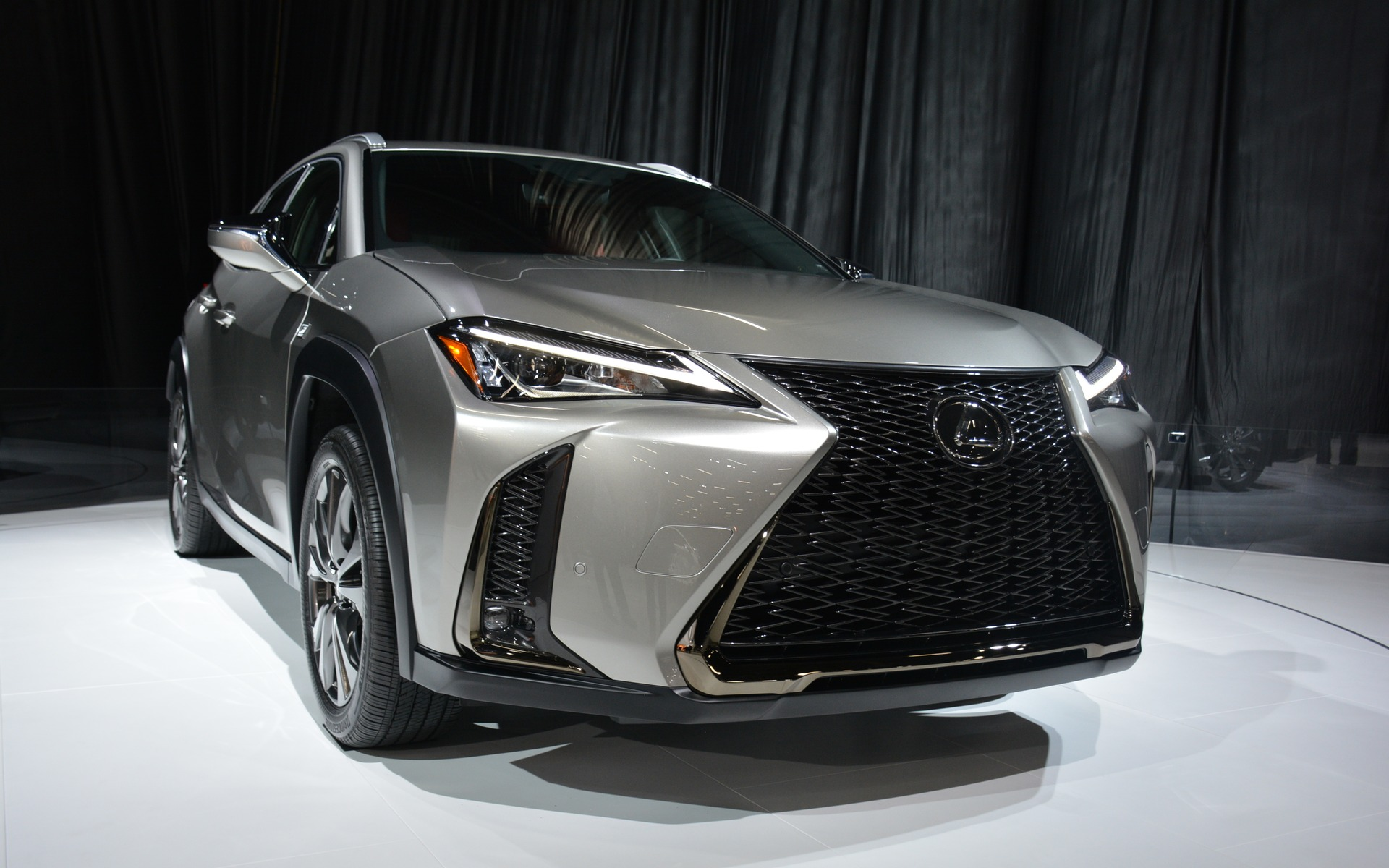 The all-new 2019 Lexus UX.