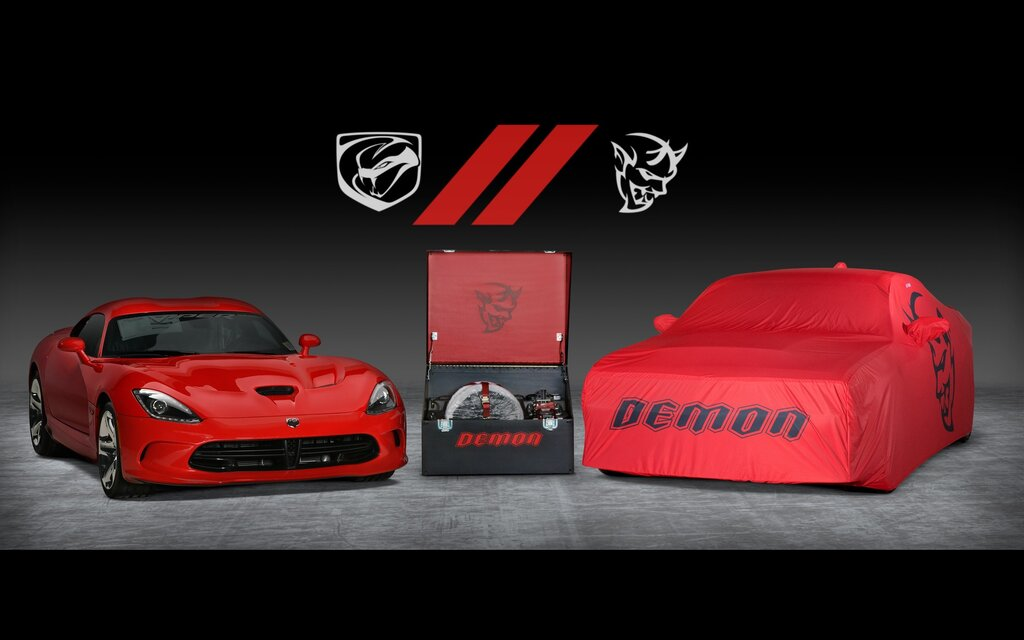 The Very Last Dodge Challenger SRT Demon and Dodge Viper Will Hit the Auction Block