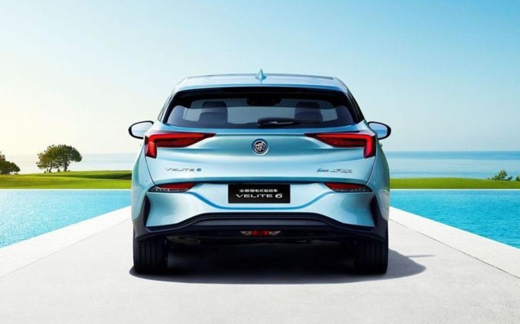 <p>Buick VELITE 6 hybride rechargeable</p>
