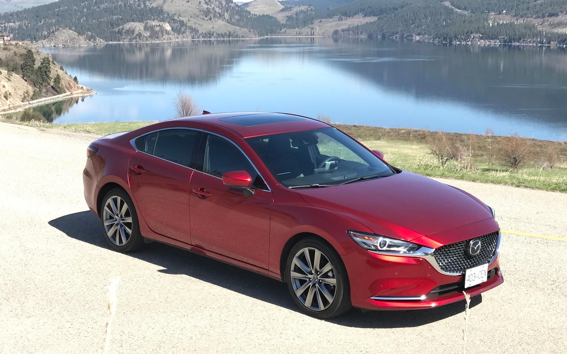 <p>La toute nouvelle Mazda6&nbsp;2018</p>